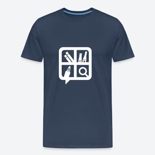 Glifo Svapo Bianco - Maglietta Premium da uomo