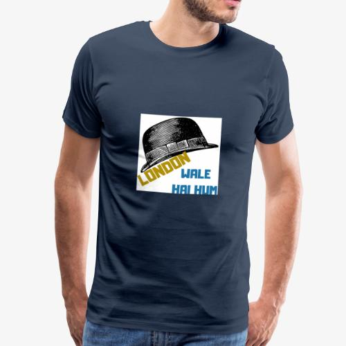 LONDON WALE - Premium-T-shirt herr