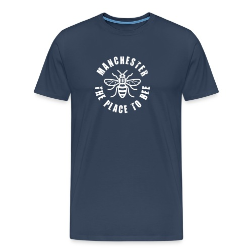Manchester - The Place to BEE - Men's Premium T-Shirt