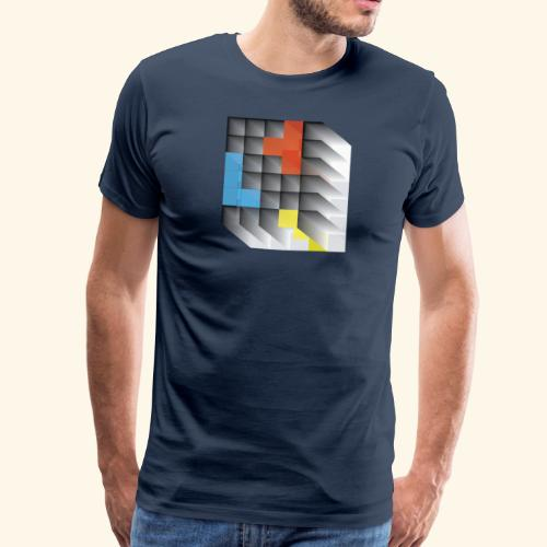 Vintage Block Game - Men's Premium T-Shirt