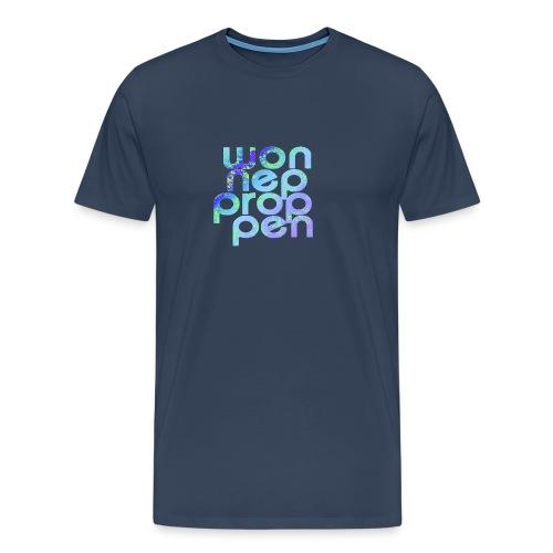 wonneproppen baby blau - Männer Premium T-Shirt