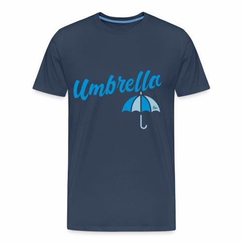 Umbrella Inc. Tipo sobre logo - Camiseta premium hombre