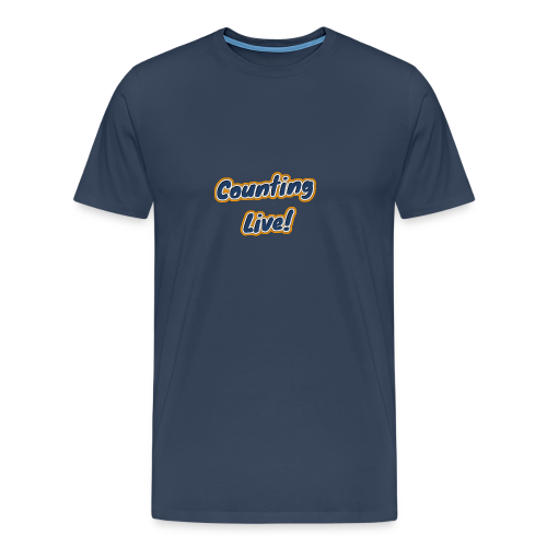 Counting Live: - Mannen Premium T-shirt