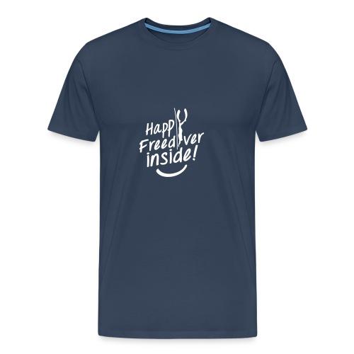HappyFreediverInside - T-shirt Premium Homme
