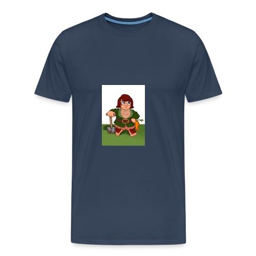 Petal's Potted Preserve - Men's Premium T-Shirt