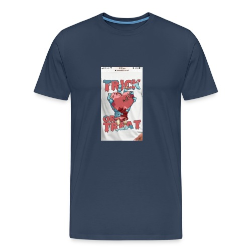 not far from halloween trick or treat - Men's Premium T-Shirt