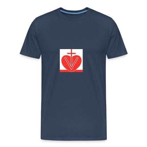 Visk stor - Premium-T-shirt herr