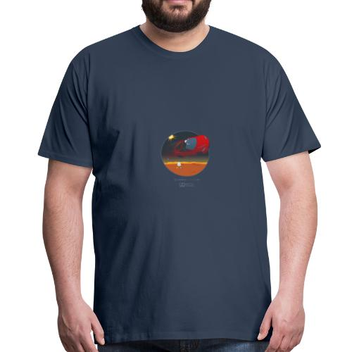 Bits18 - Space Trucking - Männer Premium T-Shirt