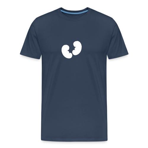 Nieren Design - Mannen Premium T-shirt