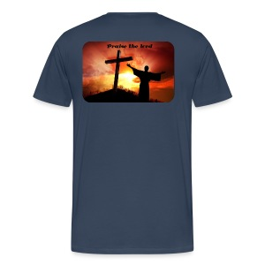 Praise the lord - Premium-T-shirt herr