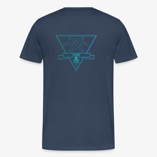 Surf & BINTANG - Männer Premium T-Shirt