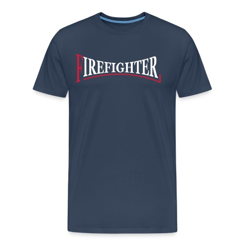 Fire Fighter Logo - Männer Premium T-Shirt