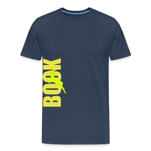 Bock Schriftzug - Männer Premium T-Shirt