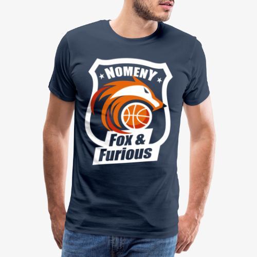 Nomeny Basket Blanc - T-shirt Premium Homme