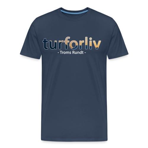 tromsrundt - Premium T-skjorte for menn