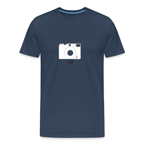 Camera, white - Männer Premium T-Shirt
