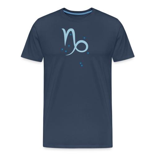 Sternzeichen & Sternbild Steinbock - Männer Premium T-Shirt
