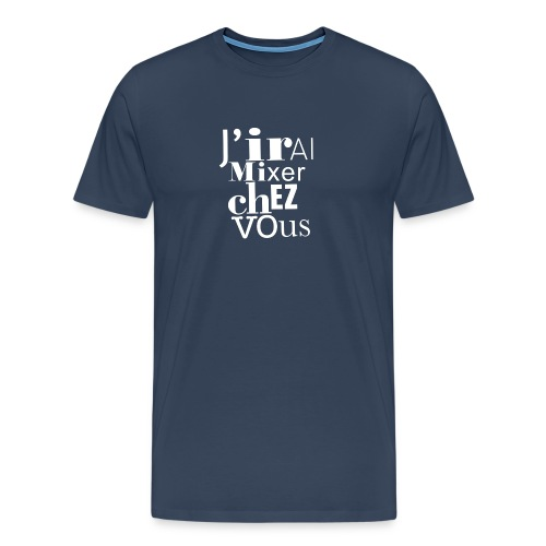 logo-jirai-blanc - T-shirt Premium Homme