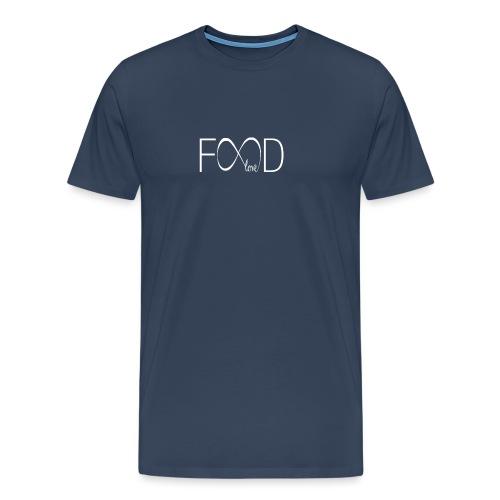 foodlove - Mannen Premium T-shirt