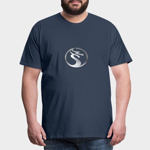 LOGO DRAGON PLATA - Camiseta premium hombre