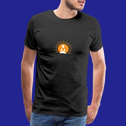 Guramylyfe logo white no text - Men's Premium T-Shirt