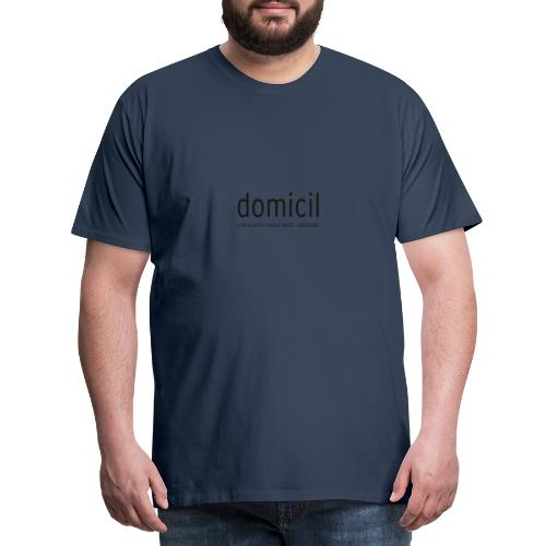domicil Dortmund kompakt black - Männer Premium T-Shirt