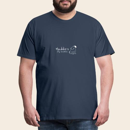 Académie des chiens de Maddie (blanc) - T-shirt Premium Homme