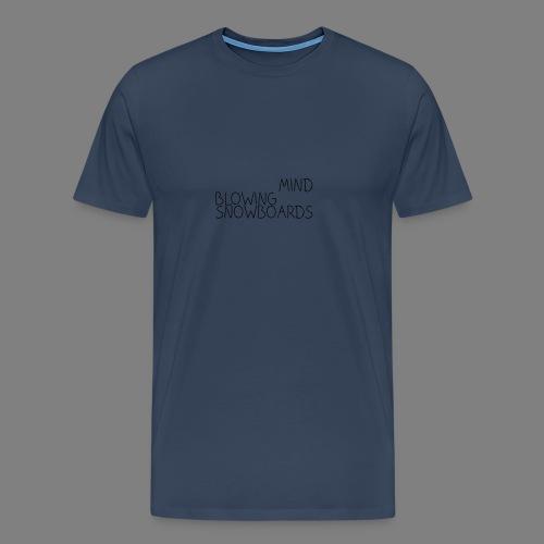 MindBlowingSnowboards_han - Männer Premium T-Shirt