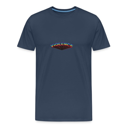 VIOLENCE typographie - T-shirt Premium Homme