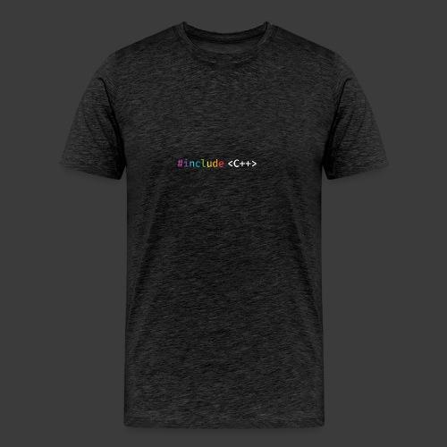 rainbow for dark background - Men's Premium T-Shirt