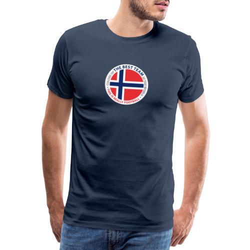Norway Best Football Team - Men's Premium T-Shirt