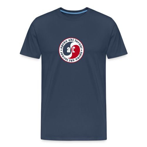 Apres Ski Leraar (rood) - Mannen Premium T-shirt