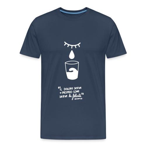 dolore-felicità - Maglietta Premium da uomo
