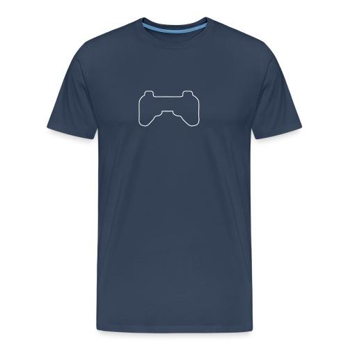 Controller weiß - Männer Premium T-Shirt