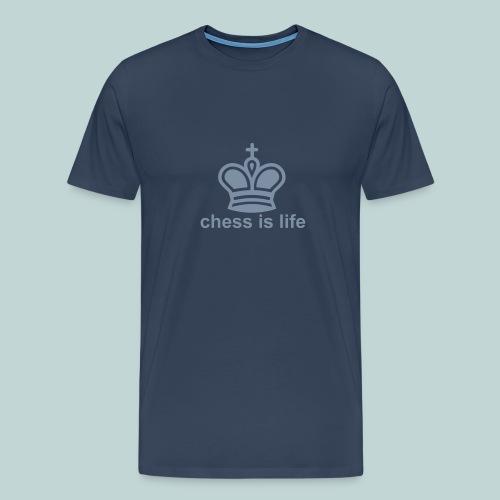 chess_is_life - Männer Premium T-Shirt