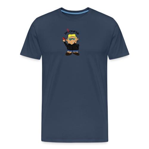 ipsonfig - Maglietta Premium da uomo