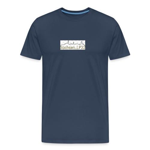 Sachsen_LP22 LOGO - Männer Premium T-Shirt