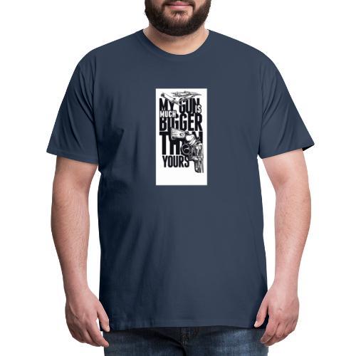 gun - Männer Premium T-Shirt