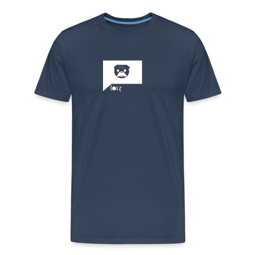 PugSMS - Premium-T-shirt herr