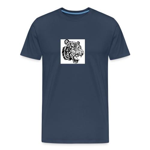 tribal tiger vector 636182 jpg - T-shirt Premium Homme