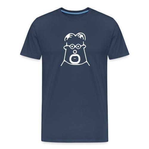 Patty Button - Männer Premium T-Shirt
