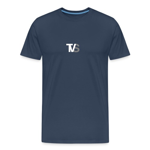 TVS Weiß/Grau - Männer Premium T-Shirt