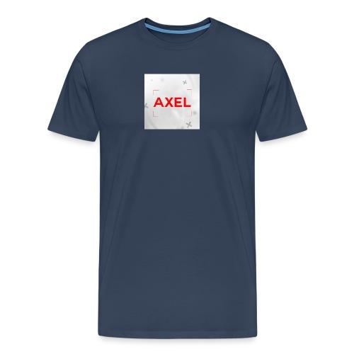 T-shirt Klein logo - Mannen Premium T-shirt