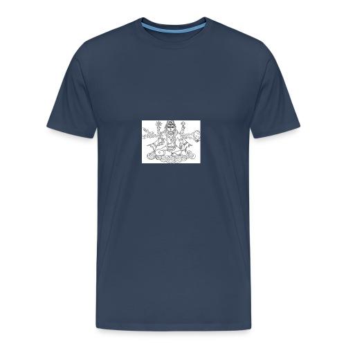 vish jpeg - Men's Premium T-Shirt