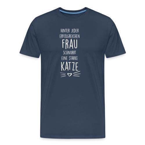 Vorschau: erfolgreiche frau - Männer Premium T-Shirt