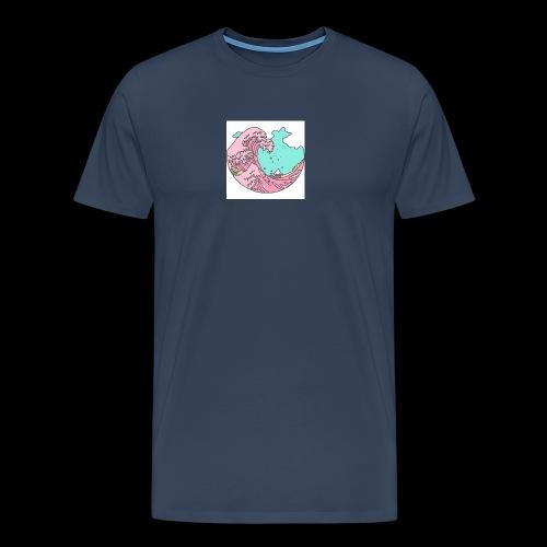 F A D E Wave design 2 - Men's Premium T-Shirt