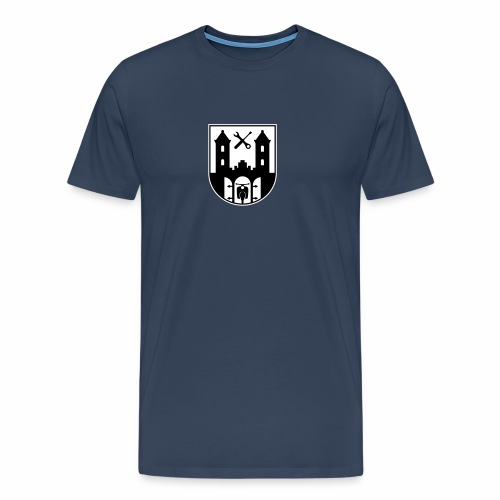 Simson Schwalbe - Suhl Coat of Arms (2c) - Men's Premium T-Shirt