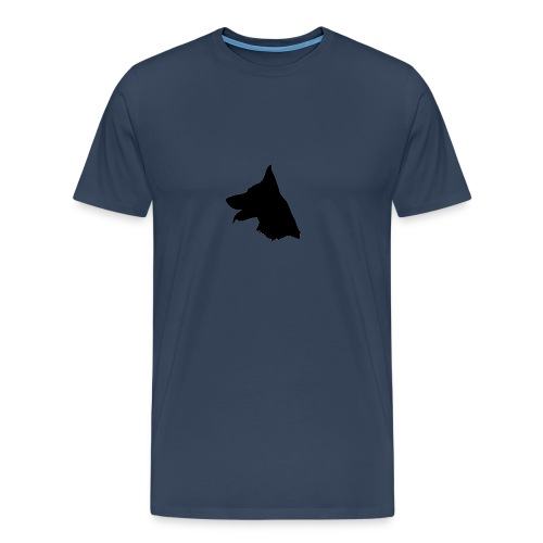 Logo Herder - Mannen Premium T-shirt