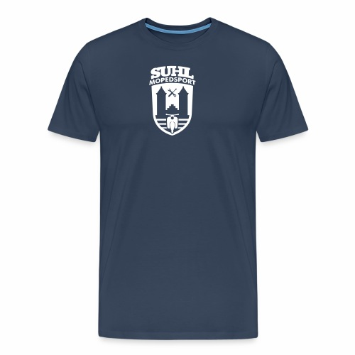 Suhl Mopedsport Schwalbe 2 Logo - Men's Premium T-Shirt