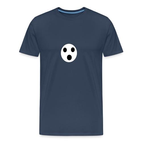 Sort Uni T-shirt - Herre premium T-shirt